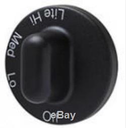 71001641 for Jenn Air Maytag Gas Range Burner Knob Black PS2077264 AP4088491