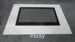 74008685 JENN-AIR RANGE OVEN OUTER DOOR GLASS BISQUE 29 3/4 x 21 7/8