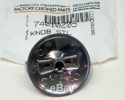 74010205-5 PACK Burner Knob for Jenn Air Gas Range Cooktop PS2087581 AP4099387