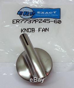 7737P245-60_5 PACK Knobs for Maytag Jenn Air Range Cooktop PS2375886 AP5670739