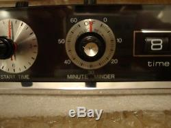 9.5 by 2.5 inches Oven Range Clock Timer vintage Kenmore Maytag Jennair #715394