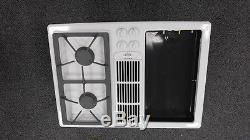 987 Jenn-Air Range stove top (white) Model# JGD8130ADW