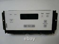 A1 Whirlpool Electric Range Oven Control Board with White Overlay W10348616 ASMN