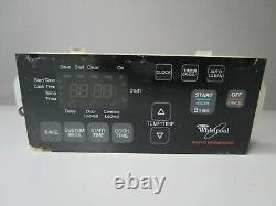 A1 Whirlpool Range Oven Control Board with Black Overlay 6610453 14D21730101 ASMN