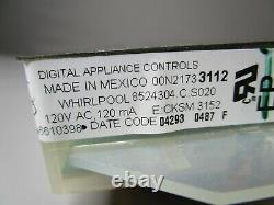 A1 Whirlpool Range Oven Control Board withBlack Overlay (TESTED GOOD) 6610398 ASMN