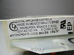 A1 Whirlpool Range Oven Control Board withWhite Overlay (TESTED GOOD) 6610397 ASMN