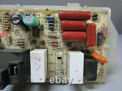 A1 Whirlpool Range Oven Control Board withWhite Overlay (TESTED GOOD) 8524303 ASMN