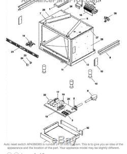 BL15 Switch #70002996 (Number 24/Diagram) Auto Switch Range Jenn-Air Maytag