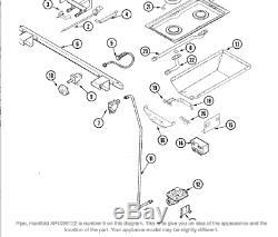 BL47 OVEN JADE JENN-AIR RANGE Pipe, Manifold 74006023