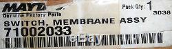 BRAND NEW NIB Genuine OEM Jenn-Air Range Membrane Touch Pad 71002033 or 71002116