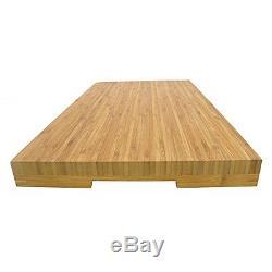 BambooMN Brand Jenn Air Bamboo Range Burner Cover / Cutting Board, New Vertical