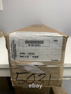 Brand NEW Whirlpool Range Control Panel Assembly (Stainless) W10915031