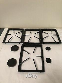 Four Maytag Whirlpool Jenn-Air Range Gas Cooktop Grate Black Replacement