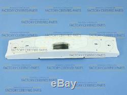 Genuine 74005746 Jenn-Air Range Control Panel Assembly (wht)