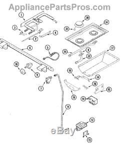 Genuine OEM Dynasty/Jenn-Air Range Stove Pipe Manifold 74006023 New OEM