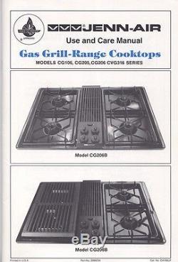JENN-AIR COOKTOP GAS GRILL-RANGE