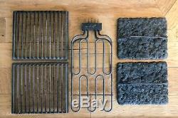 JENN-AIR Cooktop Electric Range Indoor Grill Kit Grates Lava Rock Element Burner