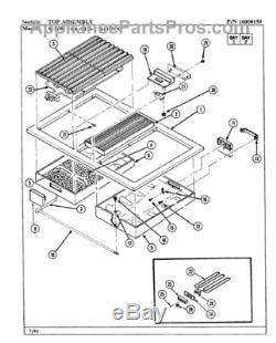 JENN-AIR Stove Range Escutcheon Kit White