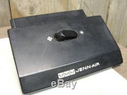 Jenn Air Fan/Light Switch Range 4 tab Black