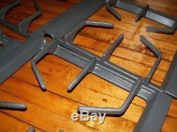 Jenn-Air Maytag gas range burner grate 12001428 12001481 GRAY set of 4