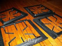 Jenn-Air Maytag gas range burner grate 71003089 WP71003089 BLACK set of 4