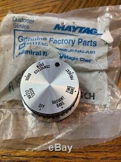 Jenn Air Oven Range Selector Bake Control Knob D shaft Vintage Temperature
