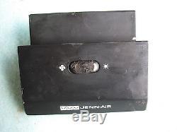 Jenn Air Range-Blower-Fan- Light Switch-Black 4 Tab 704478