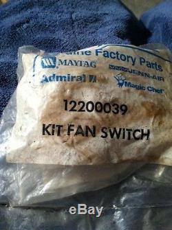 Jenn-Air Range Fan & Light Switch 12200039
