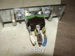 Jenn Air Range Fan/Light Switch 4 tab 202546