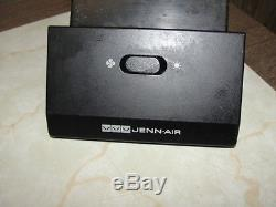 Jenn Air Range Fan/Light Switch 4 tab Black