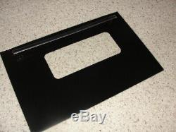 Jenn Air Range S125 Range Outer Door Glass and Handle Black