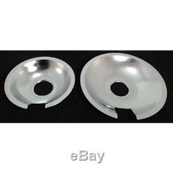 Jenn Air Range Stove Cooktop Drip Pan Set, 715877 & 715878 Pans Parts