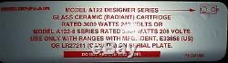 Jenn Air Range/Stove/Oven Stove Cartridge Assembly A122BA