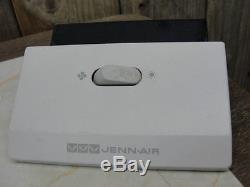 Jenn Air Range Switch Fan Light Four Tab White