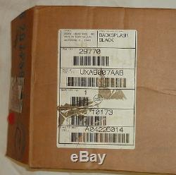 Jenn-Air UXA9007AAB 6 Gas Oven Range Custom Backsplash Black Splash BLACK NEW