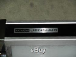 Jenn-air Oem Black Back Splash With Light For Downdraft Stove Range Fluorescent