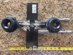 Jenn-air Range Stove Top Gas Burner Assembly Right And Left 2 Burners