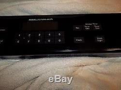 Jenn-air SVE47600B range touchpad switch membrane 71002033 wp71002033