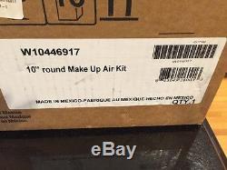KitchenAid Range Hood 10 Duct Make-Up Air Kit Powerful Hood Jenn Air W10446917