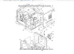 LLP2 Maytag Jenn-Air Range Microwave Amana Comml Element 12000101 NEW OEM