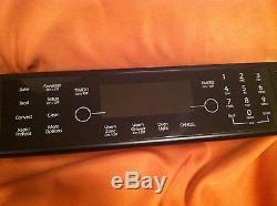 MINT JENN-AIR W10206086 RANGE ASSEMBLY CONTROL PANEL BLACK FACTORY AUTHORIZED