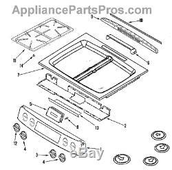 Maytag/Whirlpool/Jenn-Air Range Metal Cooktop 74011602, 2001X240-50 NEW OEM