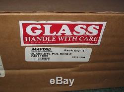 NEW 74011959 Jenn-Air Range Curved Glass Control Panel jennair stove maytag
