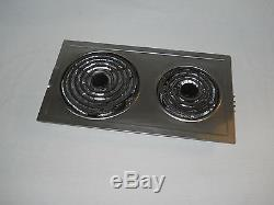NICE JENN-AIR A100 CAE10 STAINLESS STEEL CARTRIDGE COOKTOP RANGE BURNER A109C