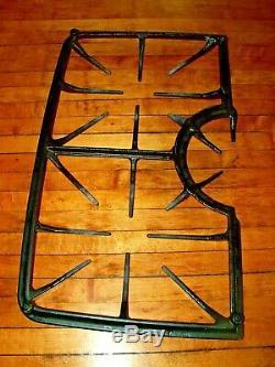 OEM Jenn-Air Whirlpool gas range stove burner grate 7518P454-60 MATTE BLACK
