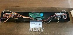 OEM Jennair SVE47600B Range Main Control Board and Front panel Part# 71001799
