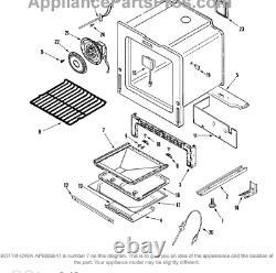 OVHS Maytag Jenn-Air Range Stove Bottom Oven 2205F054-19 New OEM