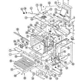 OVHS4 Maytag/Amana/Jenn-Air Range Stove 4011F200-19 Burner Box