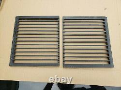 Pair of Jenn-Air GRILL GRATES for Downdraft Cooktop Range 205395 bghtthr5t