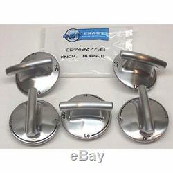 Parts 74007733-5 PACK Burner Knob For Jenn Air Gas Range Cooktop PS2375871 Home